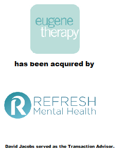 Eugene Therapy sold to Refresh Mental Health